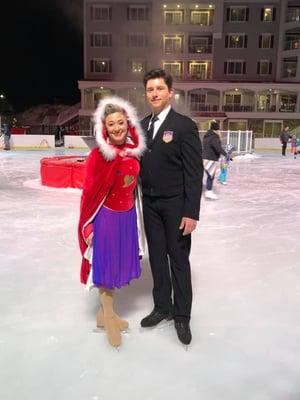 Lincoln ice skating shows