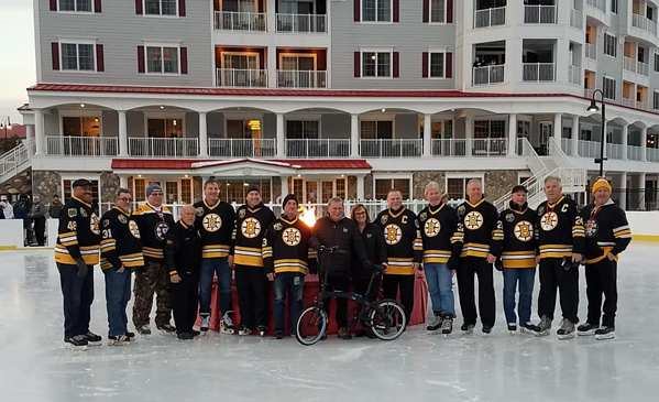 Bruins Alumni Fundraiser for New England Disabled Sports
