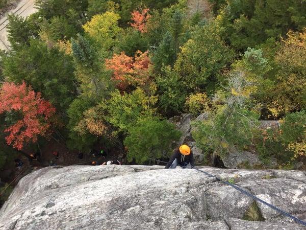 rock climbing white mountains