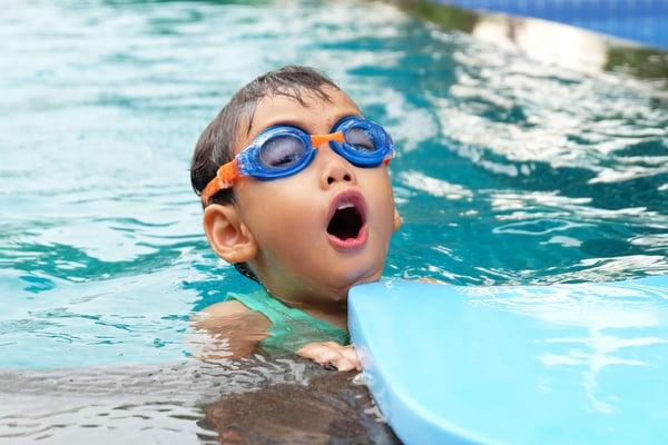 indoor swimming in the winter